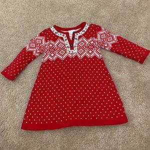 Hannah Anderson holiday knit dress